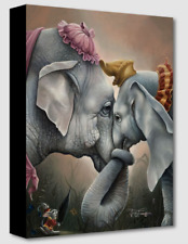 Disney Fine Art Treasures On Canvas Collection Together At Last-Dumbo-Franco