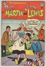Adventures of Dean Martin and Jerry Lewis #12 April 1954 Windmill cover