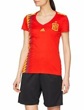 Maillots de football rouge longueur manches manches courtes taille XS