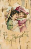 VALENTINE'S DAY - Two Children To My Valentine - udb (pre 1908)
