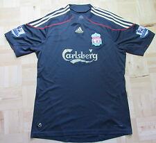 The Reds FC LIVERPOOL Away shirt jersey ADIDAS 2009-2010 Carlsberg  men/ SIZE L