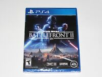 Star Wars Battlefront II Playstation 4 Game PS4 Brand New Factory Sealed 2017