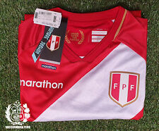 MARATHON 2020 FPF Peru Soccer Away Jersey Qatar 2022 World Cup Cualifiers