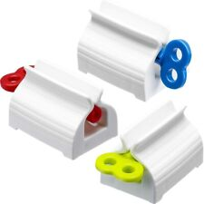 3Pcs Rolling Tube Toothpaste Squeezer Toothpaste Seat Holder Rotate Dispenser