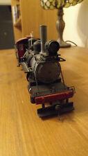 On30 2-6-0 Bachman steam locomotive black with detailing like O-16.5