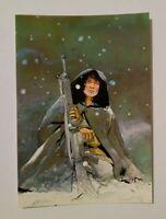 carte postale Crespin Lune Blanche Les Humanoïdes associés Métal Hurlant BD