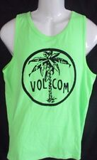MENS VOLCOM PALM GREEN TANK TOP  SIZE S