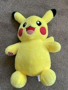 Build A Bear Pikachu Plush Soft Pokemon Toy