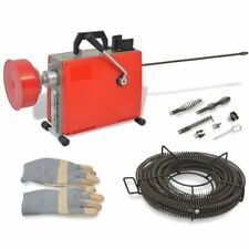 Blocked Clogged Pipe Tube Drain Sewer Sludge Blockage Remover Cleaning Machine