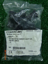 """10 Pack Commscope Andrew SSHA-38, 1/2"""" Snapstak Hanger Adapter for 3/8"""" Cable"""