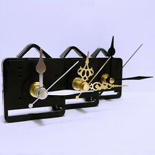 Quartz clock movement sweep mechanism (non ticking) with hands and battery
