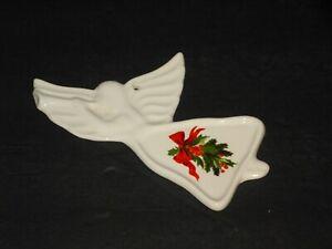 1988 Pfaltzgraff Christmas Heritage Pottery Flat Angel Ornament