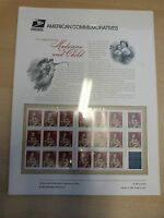 #3244  Madonna booklet pane of 20  USPS Commemorative Panel  #555
