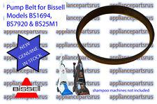 Bissell Shampoo Vac Pump Belt 2150628 suits 1623F 1694F 7920F 1466F 3278F - NEW