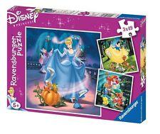 Ravensburger Puzzle Puzzle Children Snow White Cinderella Arielle 3x49 Pieces