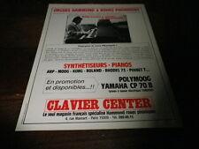 EDDY LOUISS - Publicité de magazine / Advert !!! CLAVIER CENTER !!!!!!