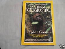 NATIONAL GEOGRAPHIC February 2000 ALBANIANS Balkans KOSOVO Orphan Gorillas