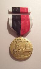 WW II U.S. Army Occupation Military Medal with RIBBON