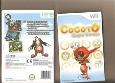 COCOTO Magic Circus NINTENDO WII FAMILY Gioco di tiro