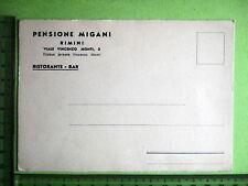 EMILIA R.-RIMINI- Pubblicitaria Pensione MIGANI- 13581