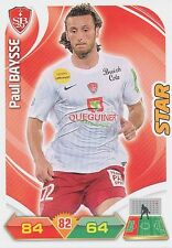 PAUL BAYSSE STADE BRESTOIS TRADING CARDS ADRENALYN PANINI FOOT 2013