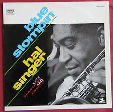 HAL SINGER    LP  ORIG  FR  BLUE STOMPIN'   CHARLIE SHAVER  RAY BRYANT