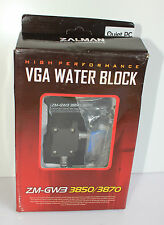 Zalman ZM-GWB3850/3870 ATI VGA Water Block High Performance Quiet PC