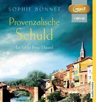 SOPHIE BONNET - PROVENZALISCHE SCHULD - OTTO,GÖTZ   MP3 CD NEW