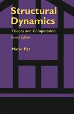Structural Dynamics : Theory and Computation by Mario Paz (1997, Hardcover)