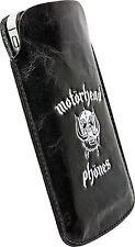"Motörhead Phönes ""Burner"" Schutzhülle, weisses Logo, Handy Hülle Größe L"