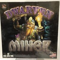 DWARVEN MINER Strategy Game Rather Dashing Games 2013 Factory Sealed New