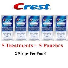 *CREST Whitestrips 3D White NO-SLIP Professional Effects 5Pouches / 10 Strips