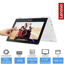 "Lenovo Yoga 300 11.6"" Convertible Laptop Intel Dual Core N3060, 4GB RAM, 500GB"