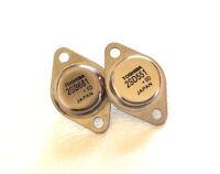 1 Pair | 2SD551 + 2SB681 | Audio Transistors TO-3 | Brand New Toshiba