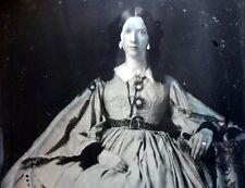 c1855 STUNNING Beautiful Young Woman 6th Plate AMBROTYPE PHOTO Gutta Percha Case
