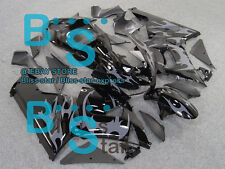 Black decals INJECTION Fairing Plastic Fit Kawasaki ZX-6R 05-06 054 A3