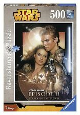 STAR WARS - ATTACK OF THE CLONES - 500 PIECE RAVENSBURGER JIGSAW PUZZLE - NEW