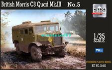 Mirror Models 35400  1/35 scale BRITISH MORRIS C8 QUAD MK.III NO.5