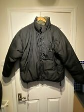 MENS LOWE ALPINE Reversible Down Jacket SIZE XL BLACK / GREEN
