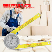 Drawing Measuring Tool Angle Finder Ruler Miter Saw Protractor Level Instrument