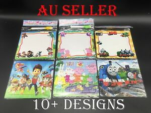 1-10pcs Kids Puzzle Writing Drawing Board Disney Party Favor Lolly Bag toy Gift