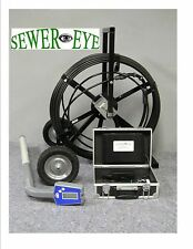 SEWEREYE CAMERAS SEWER CAMERA, PIPE INSPECTION SYSTEM WITH LOCATOR AND RECORDER