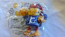 GARFIELD Football Player in Purple Jersey Dairy Queen Kids Meal Toy 1999