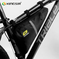 Waterproof Bicycle Front Triangle Bag Mountain Road Bike Tube Frame Tool Bag