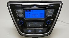 2011 2012 2013 Hyundai Elantra CD Player Radio MP3 XM Satellite Bluetooth OEM 13