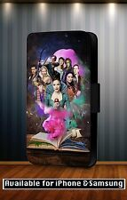 Once Upon A Time Series Captain Hook Drama Leather Flip Phone Case Cover Y61
