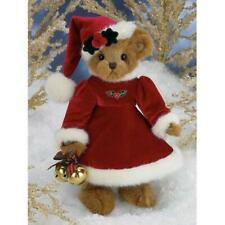"Bearington- Christmas Limited Edition Musical Bear ""Jingle Belle"" - 14 Inches an"