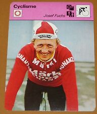 CYCLISME CICLISMO JOSEF FUCHS SUISSE SCHWEIZ SVIZZERA TOUR FRANCE BARACCHI