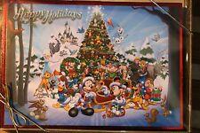 DISNEY WORLD DISNEYLAND MICKEY MOUSE FROZEN ELSA OLAF CHRISTMAS CARDS SET OF 16