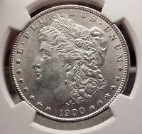1900 MORGAN SILVER DOLLAR United States of America USA Coin NGC UNC DETAI i57728